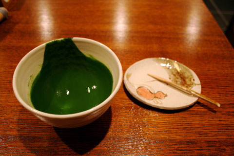 Ippodo Tea Maccha Koicha - after