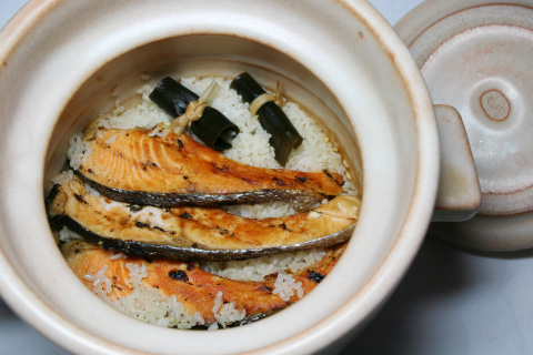 Shake Gohan (Salmon Rice)