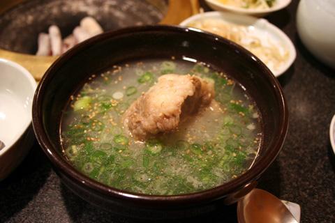 Yakiniku (Japanese style grilled beef)