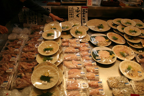 Shopping for Japanese New Year's Celebration Food at Nishiki Market in Kyoto