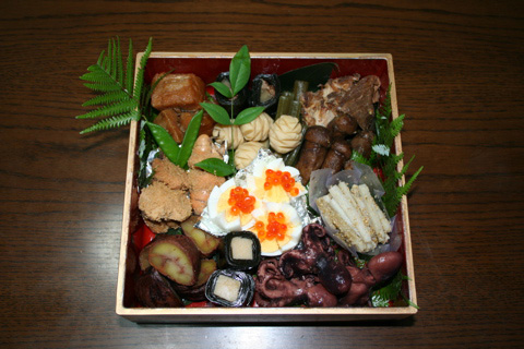 Osechi-ryori: traditional Japanese New Year meal