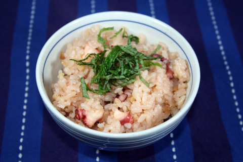 Tako Meshi (Octopus Rice) title=