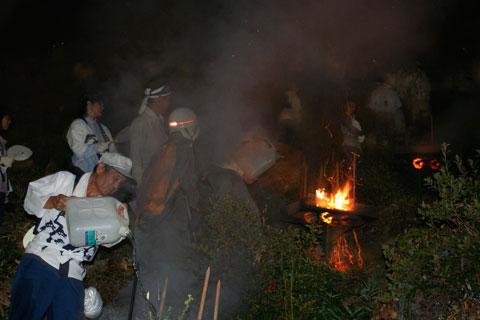 Kyoto Gozan Okuribi Daimonji Yama 五山送り火 妙山
