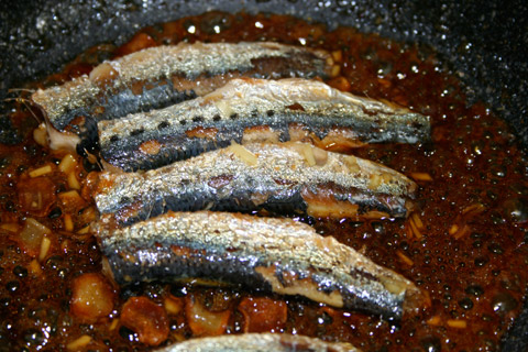 Iwashi Shoyuyaki: Sardines Sauteed in Shoyu