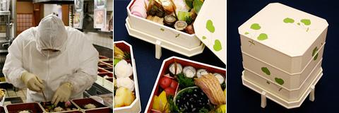 Kichisen Osechi: Midnight Final Preparation 京都吉泉 おせち料理の盛り付け