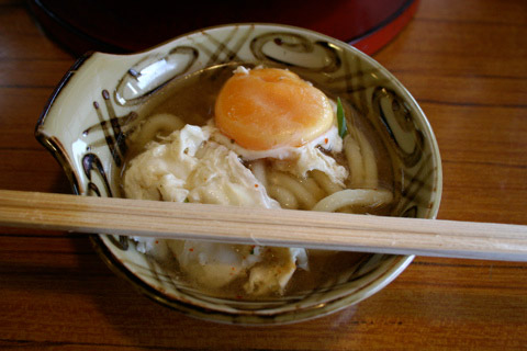 Nabeyaki Udon and Soba Shinise 京都 かく谷老舗