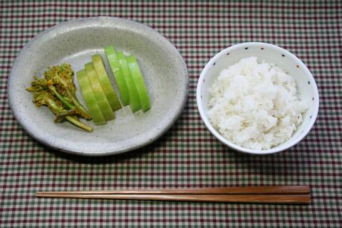 Nanohana (Rape Blossom) Nukazuke 菜の花ぬか漬け
