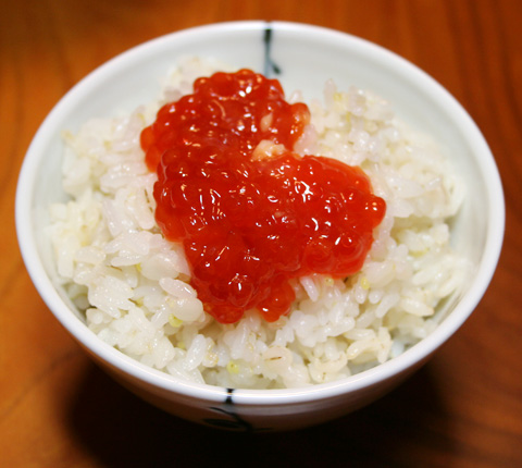 Sake Kasu Zanmai: Sujiko (Salmon Egg Sac) Kasuzuke 筋子粕漬け