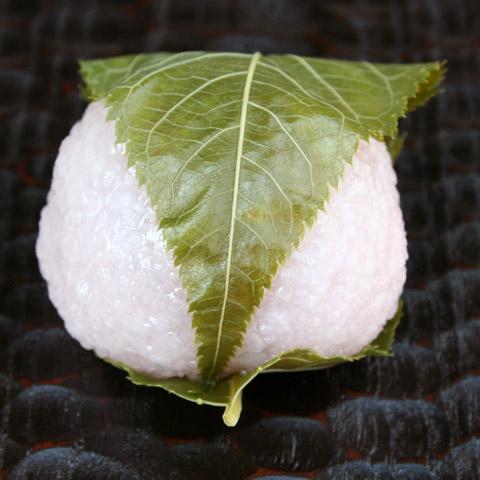 Kansai-style Sakura Mochi 関西風桜餅