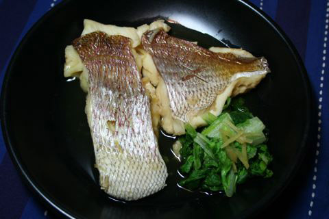 Sea Bream Japanese Feast: Tai Sashimi, Tai Meshi, Tai Nitsuke 鯛
