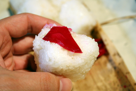 2009 Shinmai New Rice and Onigiri from Chef Tanigawa
