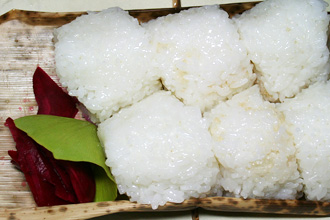 2009 Shinmai 'New Rice' and Onigiri from Chef Tanigawa