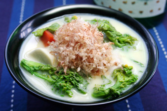 Shiro Miso Ozouni (White Miso Ozouni) Recipes — Dishmaps