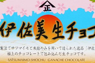 Imo Jochu Nama Choco Ganache at Kyoto Daimaru Department Store Valentine Chocolat Promenade