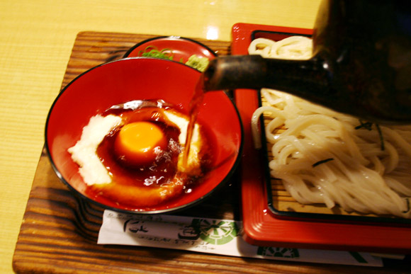 Tsunamichi's Cold Summer Noodles Zaru Udon Zaru Soba 綱道 ざるとろ そば うどん