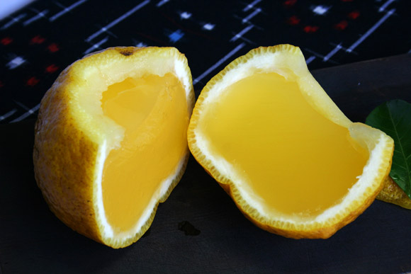 Wagashi: Kamishichiken Oimatsu Natsumikan Bitter Citrus Summer Jelly 老松 夏柑糖
