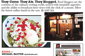 Travel + Leisure Southeast Asia Top Food Blogger Profile